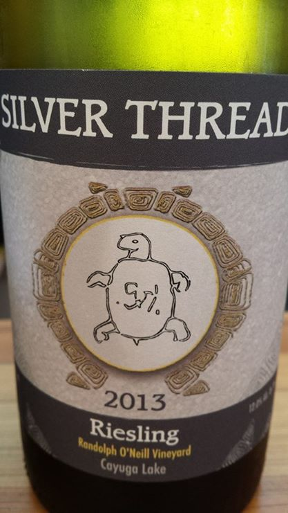 Silver Thread – Riesling 2013 – Randolph O'Neill Vineyard 2013 – Cayuga Lake