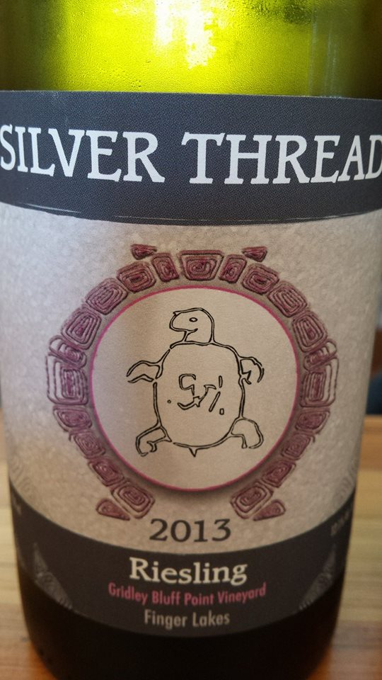 Silver Thread – Riesling 2013 – Gridley Bluff Point Vineyard – Finger Lakes