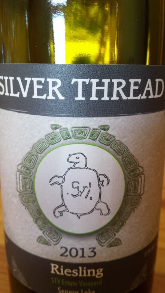 Silver Thread – Riesling 2013 – STV Estate Vineyards – Seneca Lake