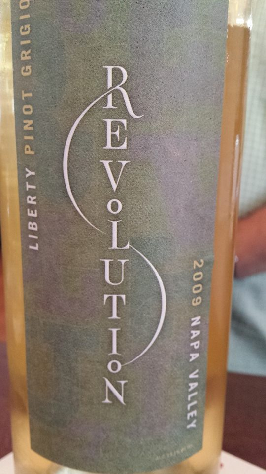 Revolution – Liberty Pinot Grigio 2009 – Napa Valley