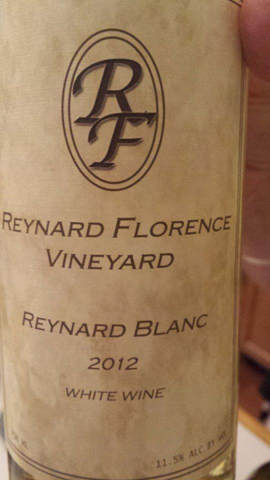 Reynard Florence Vineyard – Reynard Blanc 2012 – Virginia White Wine