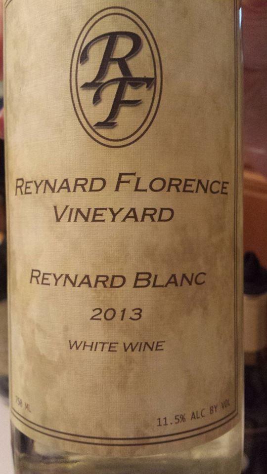 Reynard Florence Vineyard – Reynard Blanc 2013 – Virginia White Wine