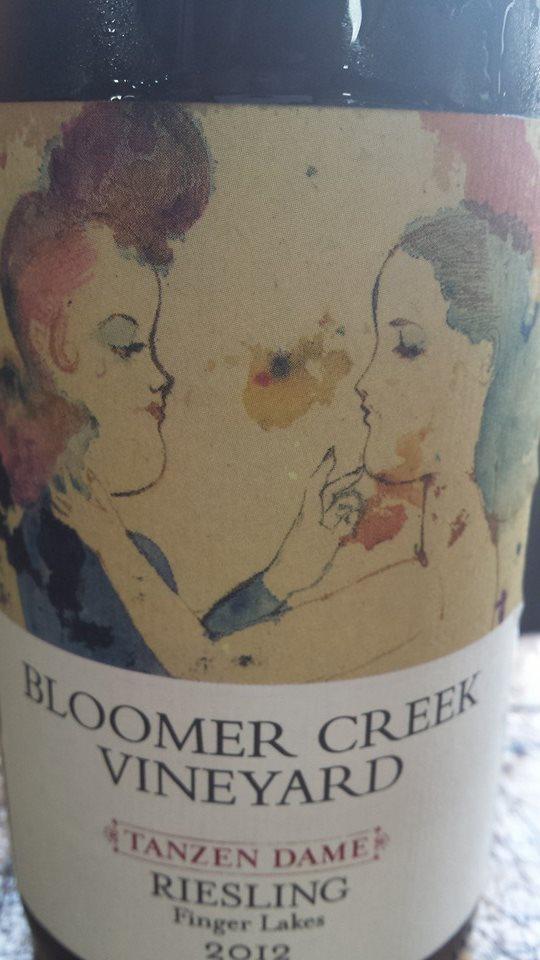 Bloomer Creek Vineyard – Riesling 2012 – Tanzen Dame – Finger Lakes