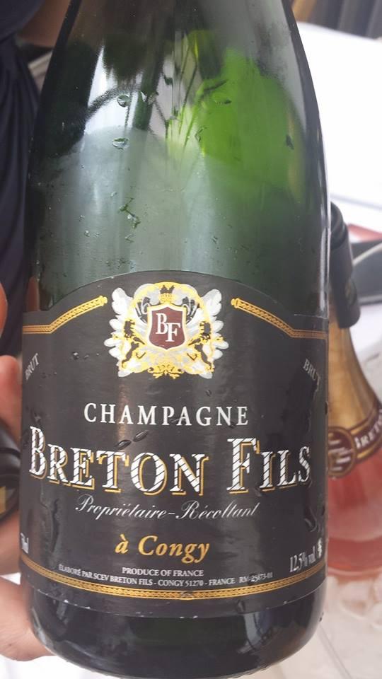 Champagne Breton Fils – Brut Tradition – NV