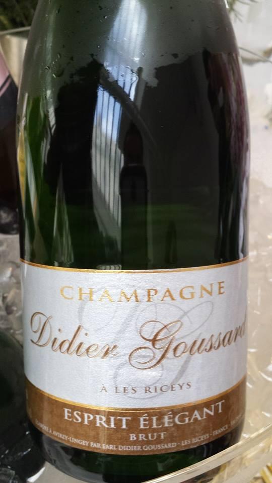 Champagne Didier Goussard – Esprit Elégant – Brut – NV