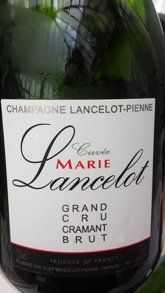 Champagne Lancelot-Pienne – Cuvée Marie Lancelot 2009 – Blanc de blancs – Grand Cru