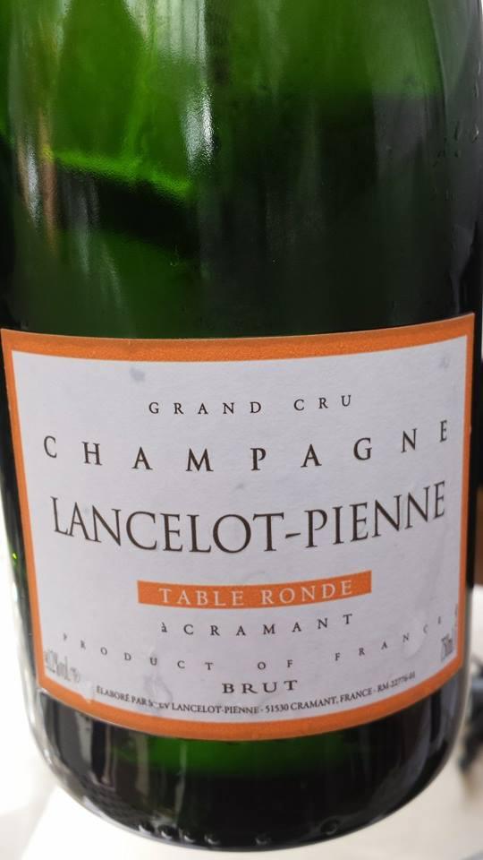 Champagne Lancelot-Pienne – Cuvée Table Ronde – Blanc de blancs – Brut – Grand Cru – NV