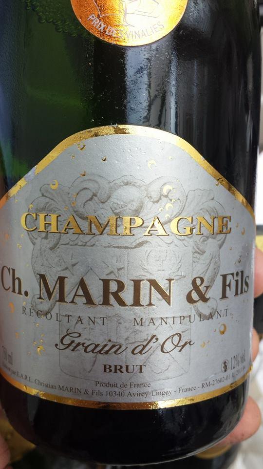 Champagne Marin & Fils – Grain d'Or – Blanc de blancs – Brut – NV