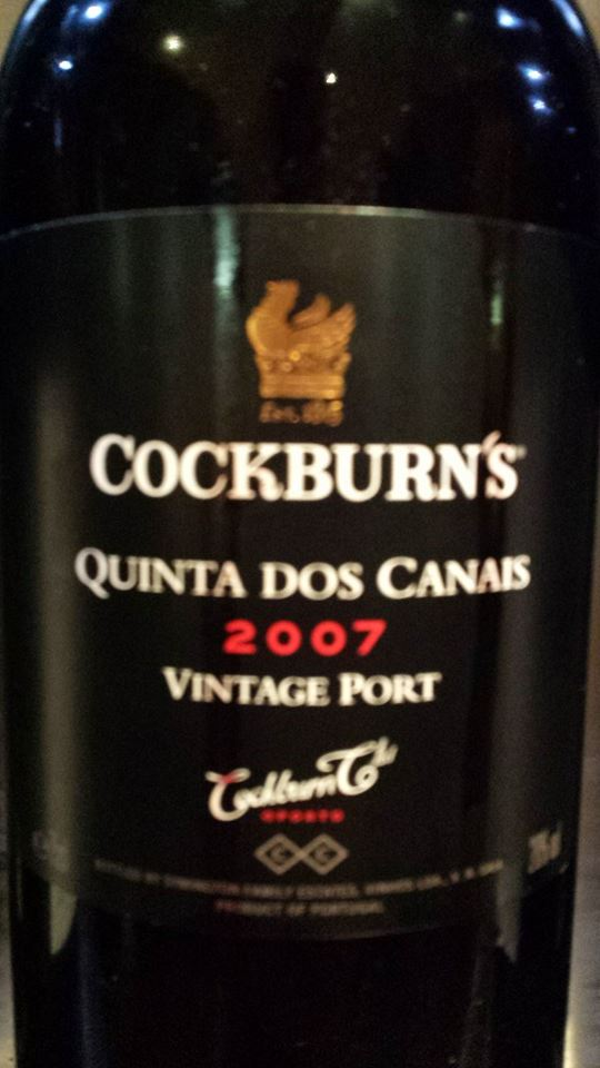 Cockburn's – Quinta dos Canais 2007 – Vintage Port