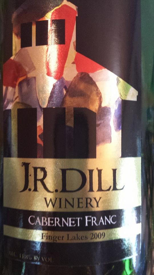 J.R. Dill Winery – Cabernet Franc 2009 – Finger Lakes