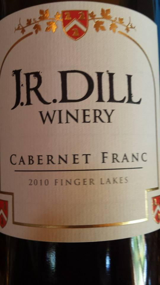 J.R. Dill Winery – Cabernet Franc 2010 – Finger Lakes
