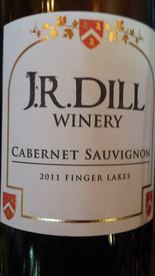 J.R. Dill Winery – Cabernet Sauvignon 2011 – Finger Lakes