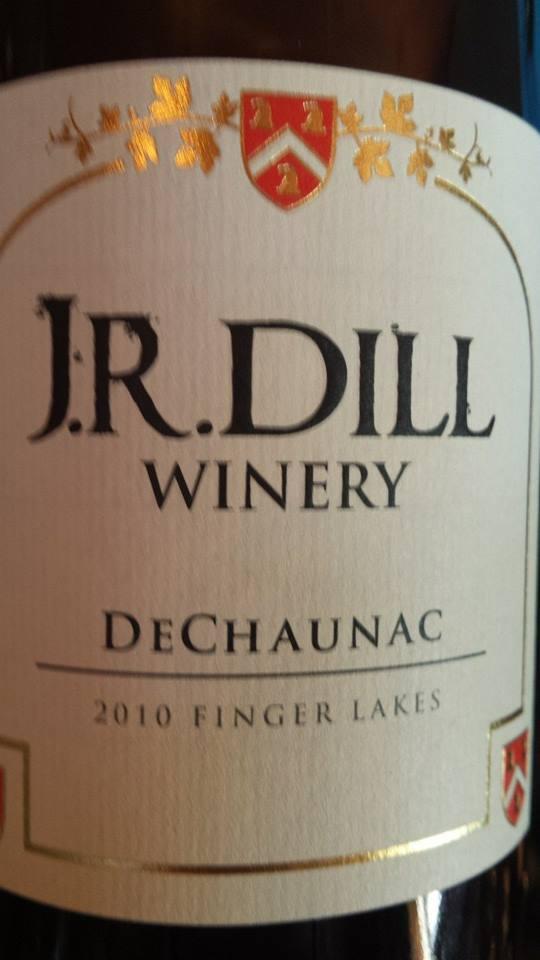 J.R. Dill Winery – DeChaunac 2010 – Finger Lakes