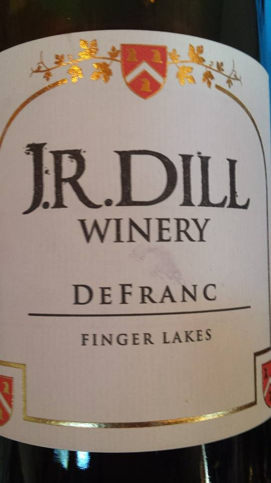 J.R. Dill Winery – DeFranc 2011 – Finger Lakes