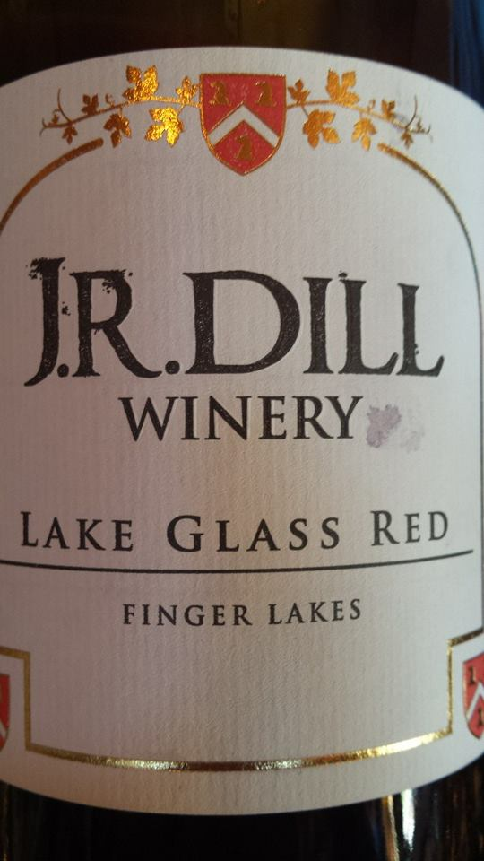 J.R. Dill Winery – Lake Glass Red 2012 – Finger Lakes