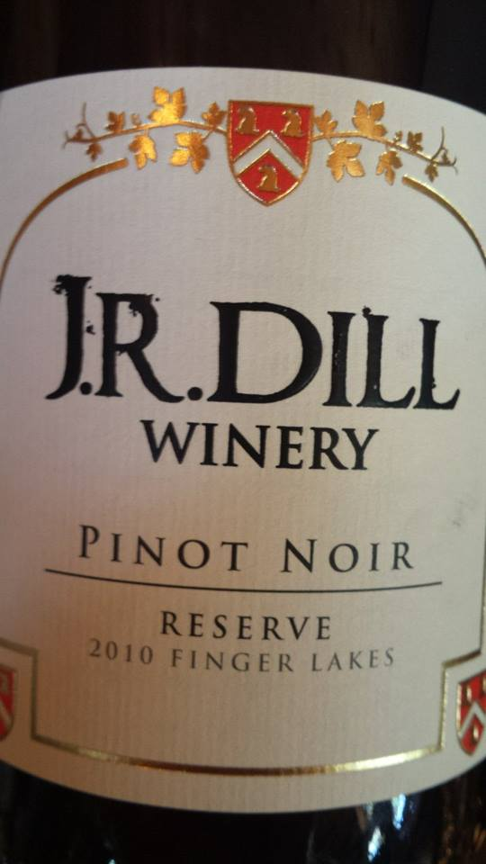 J.R. Dill Winery – Pinot Noir 2010 Reserve – Finger Lakes
