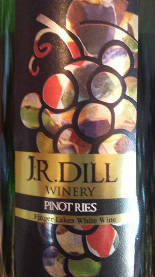 J.R. Dill Winery – Pinot Ries 2012 – Finger Lakes