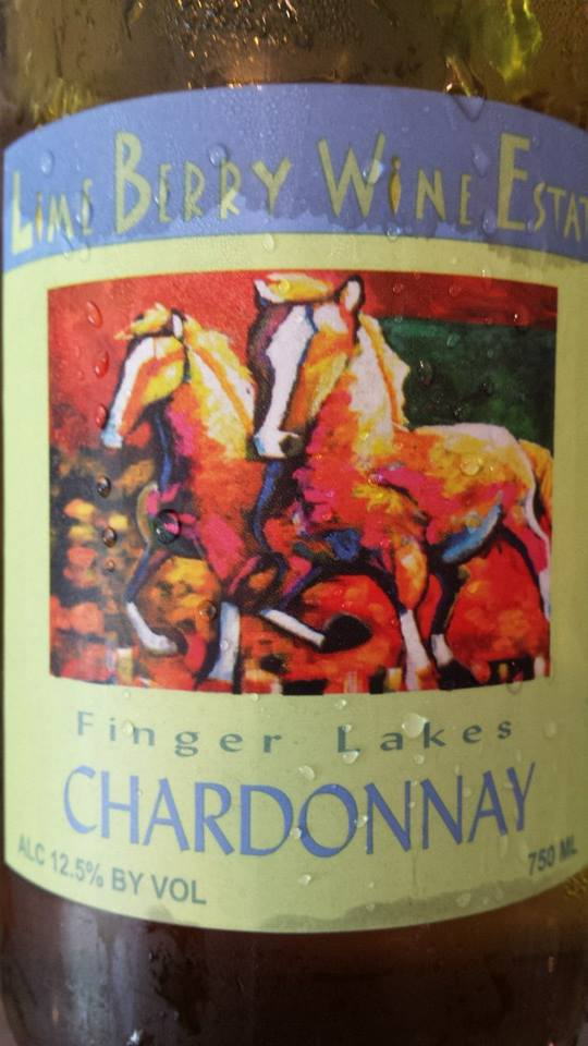 Lime Berry Wine Estate – Chardonnay 2012 – Finger Lakes