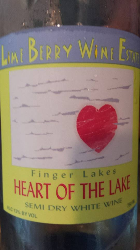 Lime Berry Wine Estate – Heart of the Lake 2013 – Finger Lakes