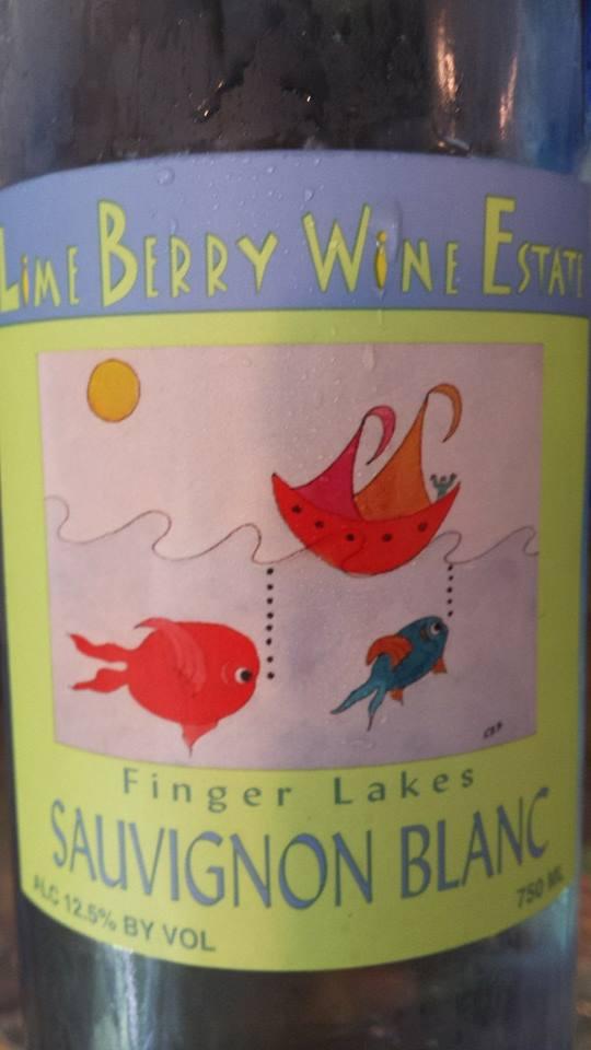 Lime Berry Wine Estate – Sauvignon Blanc 2013 – Finger Lakes