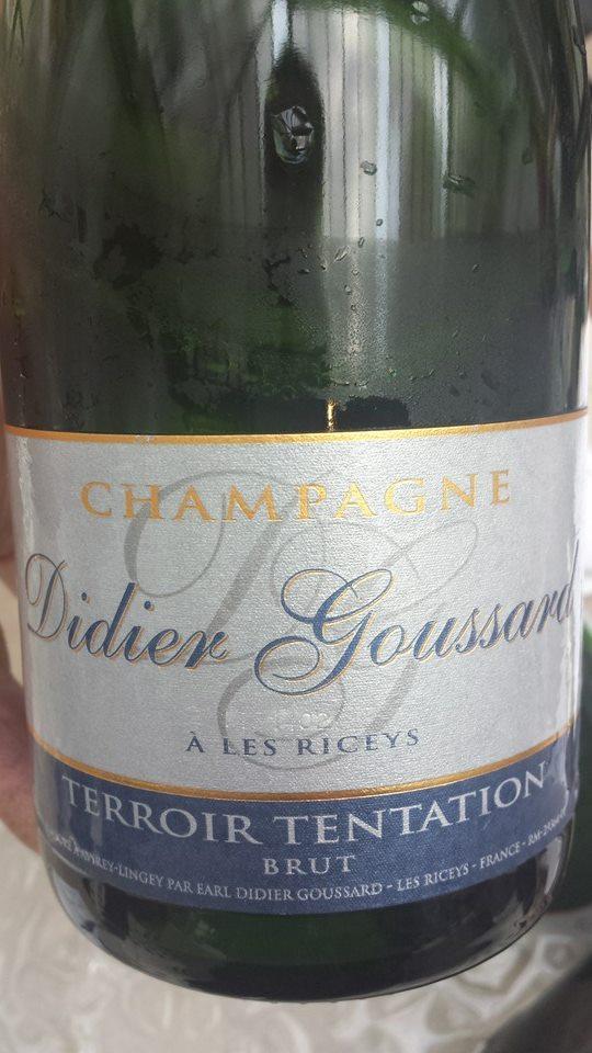Champagne Didier Goussard – Terroir Tentation – Blanc de Noirs – Brut – NV