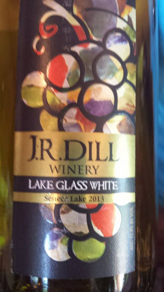 J.R. Dill Winery – Lake Glass White 2013 – Seneca Lake