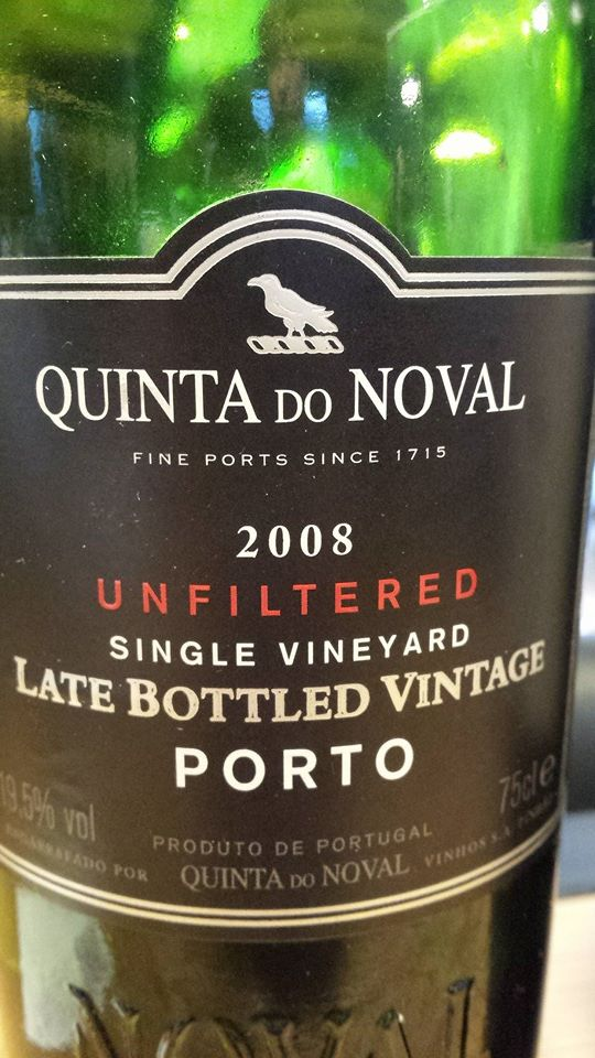 Quinta do Noval – 2008 Unfiltered – Late Bottled Vintage (LBV)