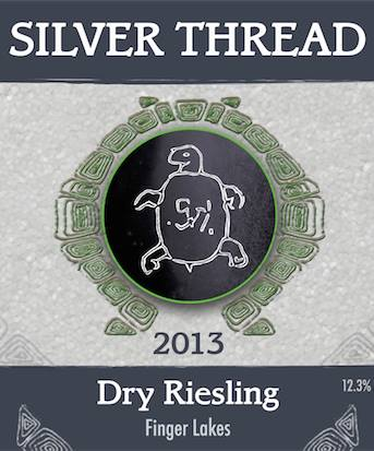 Silver Thread Vineyard – Dry Riesling 2013 – Finger Lakes