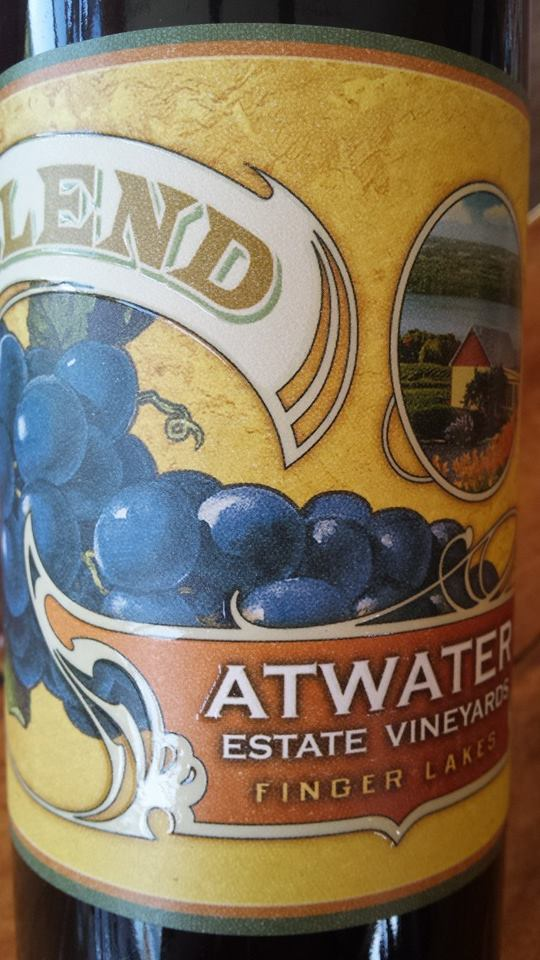 Atwater Estate Vineyards – Big blend 2012 – Finger Lakes