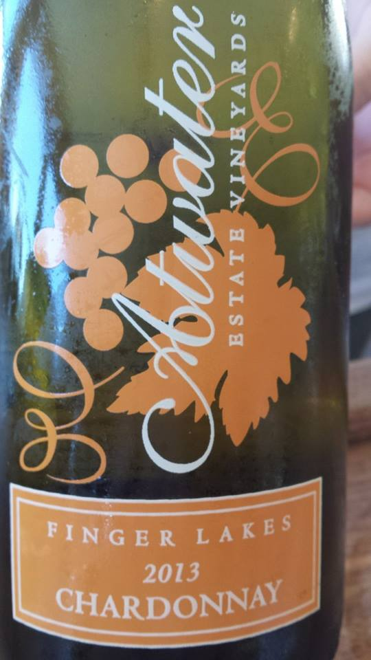 Atwater Estate Vineyards – Chardonnay 2013 – Finger Lakes
