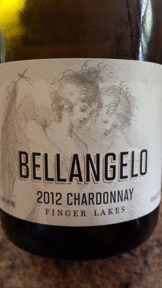 Bellangelo – 2012 Chardonnay – Finger Lakes