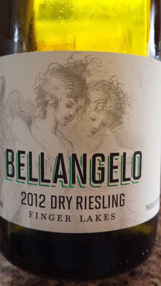 Bellangelo – 2012 Dry Riesling – Finger Lakes