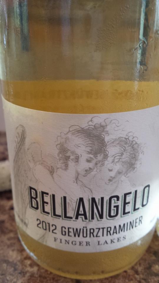 Bellangelo – 2012 Gewürztraminer – Finger Lakes