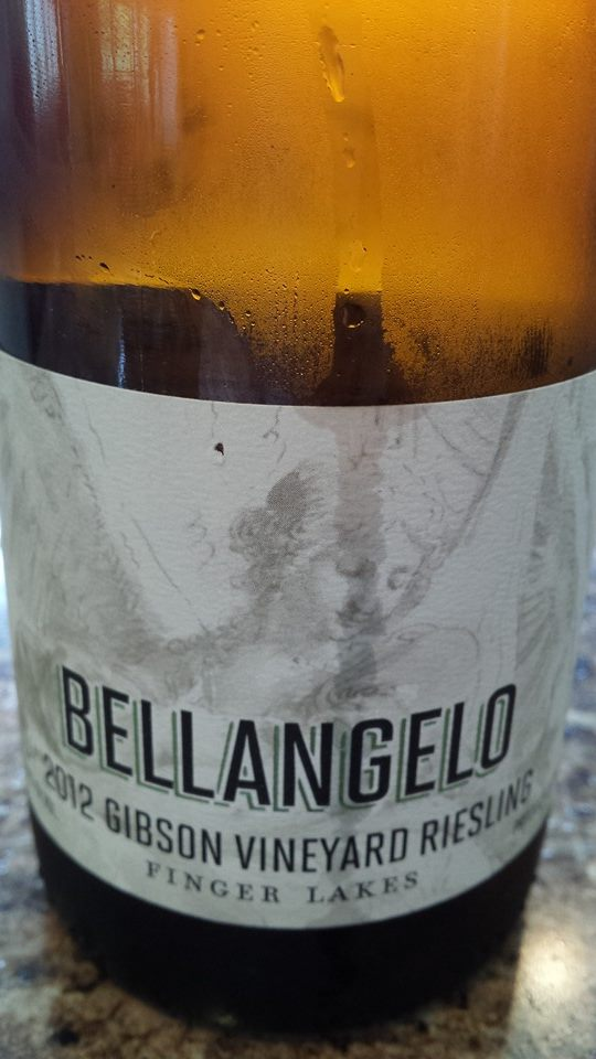 Bellangelo – 2012 Gibson Vineyard Riesling – Finger Lakes