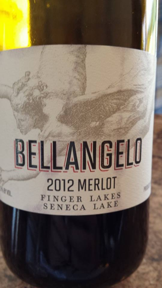 Bellangelo – 2012 Merlot – Seneca Lake (Finger Lakes)
