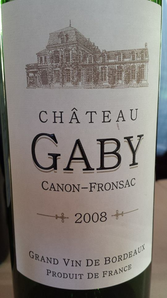 Château Gaby 2008 – Canon-Fronsac