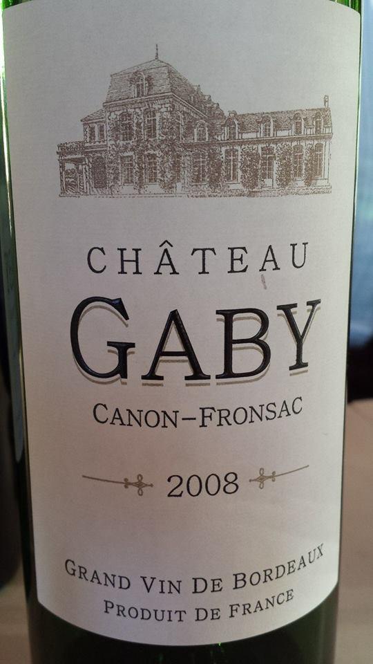 Château Gaby 2008 – Canon-Fronsac