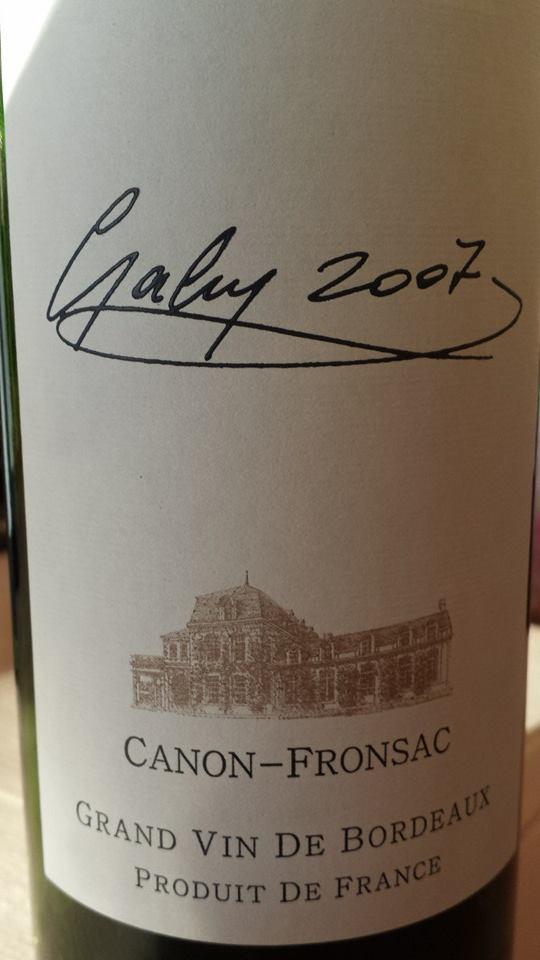 Château Gaby – Cuvée Gaby 2007 – Canon-Fronsac