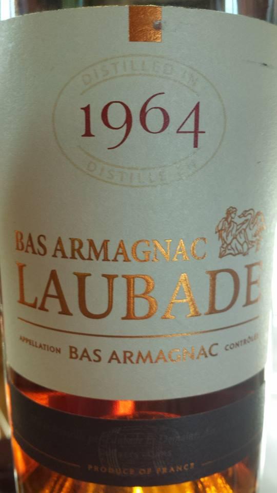 Château de Laubade – Millésime 1964 – Bas Armagnac