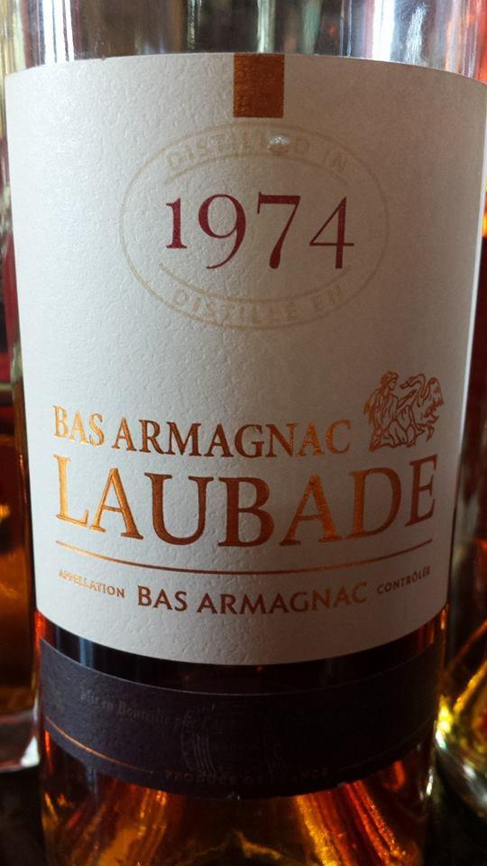 Château de Laubade – Millésime 1974 – Bas Armagnac
