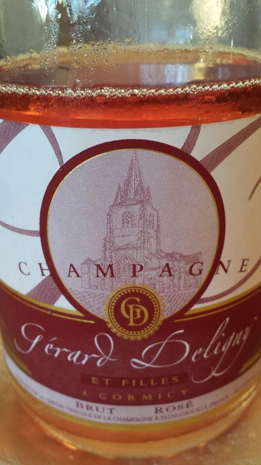 Champagne Gérard Deligny – Brut Rosé