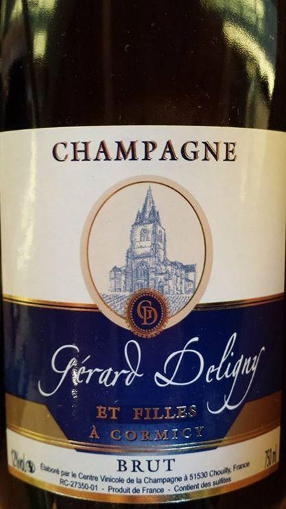 Champagne Gérard Deligny – Brut