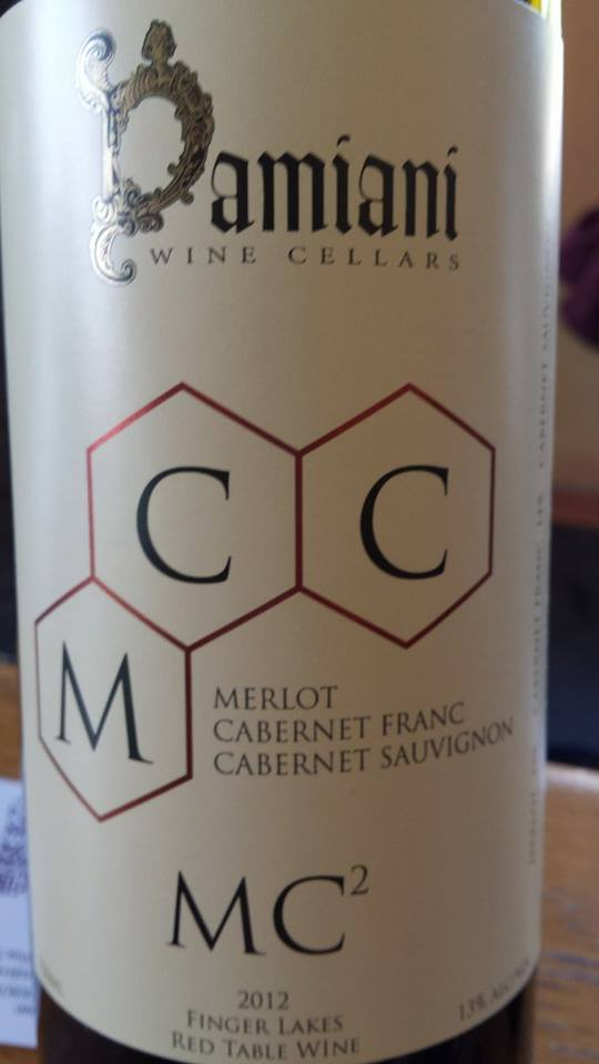 Damiani Wine Cellars – MC2 2012 – Finger Lakes