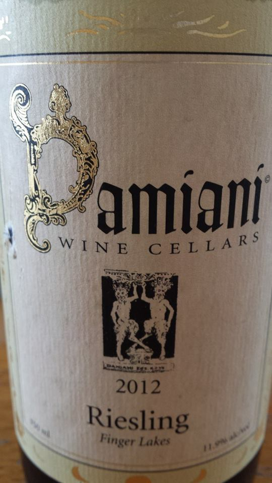 Damiani Wine Cellars – Riesling 2012 – Finger Lakes