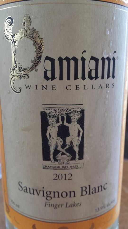 Damiani Wine Cellars – Sauvignon Blanc 2012 – Finger Lakes