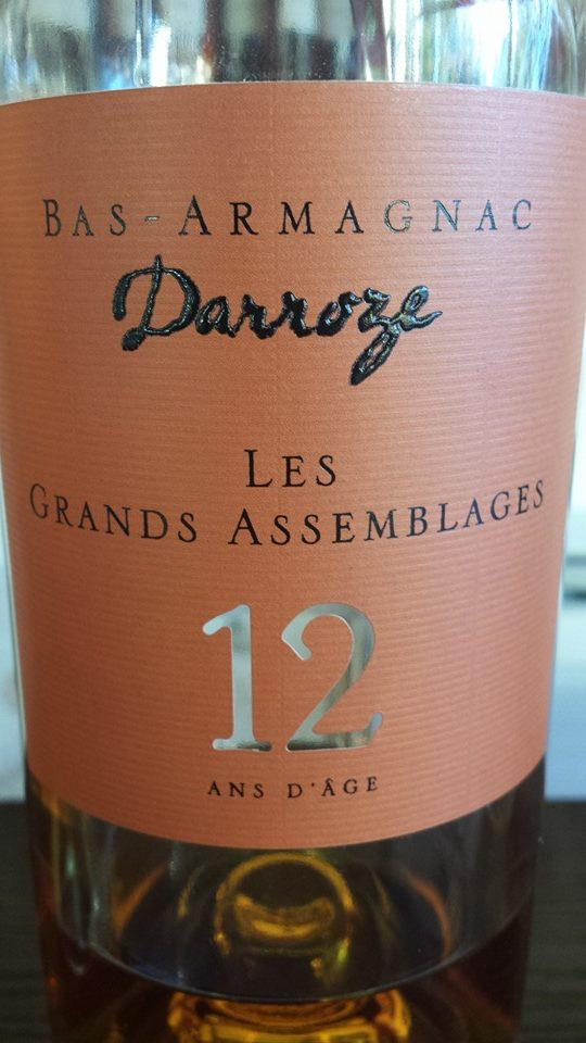 Darroze – Les Grands Assemblages – 12 ans d'âge – Bas-Armagnac