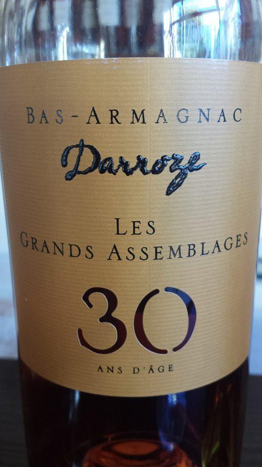 Darroze – Les Grands Assemblages – 30 ans d'âge – Bas-Armagnac