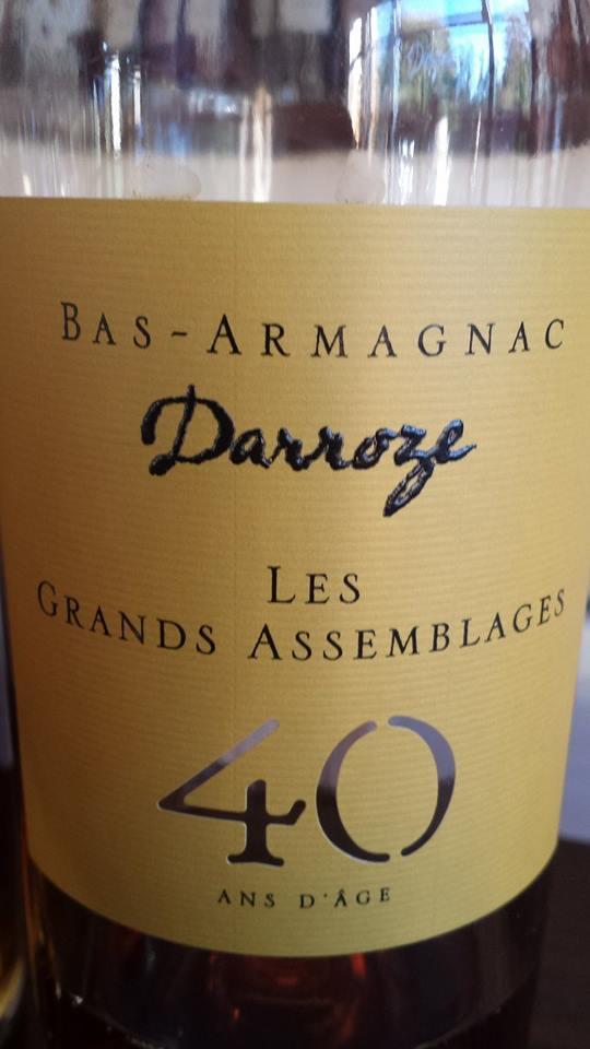 Darroze – Les Grands Assemblages – 40 ans d'âge – Bas-Armagnac
