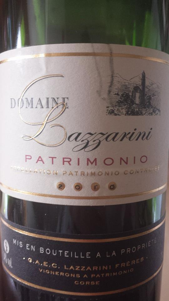 Domaine Lazzarini 2010 – Patrimonio