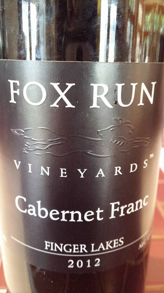 Fox Run Vineyards – Cabernet Franc 2012 – Finger Lakes